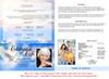 Peace 8-Sided Bottom Fold Graduated Program Template back cover