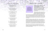 Lilac DIY Large Tabloid Funeral Booklet Template inside view2