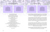 Lilac DIY Large Tabloid Funeral Booklet Template inside view 3