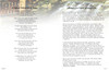 Serene DIY Large Tabloid Funeral Booklet Template inside view 3