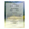 Serenity DIY Large Tabloid Funeral Booklet Template back cover