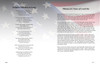 US Flag DIY Large Tabloid Funeral Booklet Template inside view