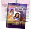 Worship DIY Large Tabloid Funeral Booklet Template back cover
