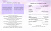 Lavender Ready-Made DIY Legal Funeral Booklet Template inside view