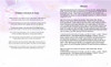 Lavender Ready-Made DIY Legal Funeral Booklet Template inside view 2