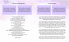 Lavender Ready-Made DIY Legal Funeral Booklet Template inside view 3