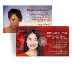 Funeral Announcement On Video