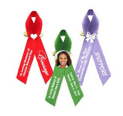 Personalized Funeral Ribbons