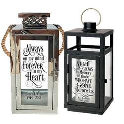 Personalized Memorial Lanterns In Loving Memory of