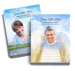 Design Your Own Personalized Funeral Guest Book