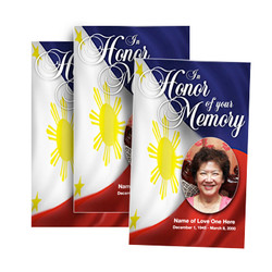 Philippines Funeral Programs
