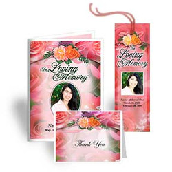 Rosy Funeral Template