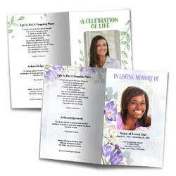 The Funeral Program Site DIY Templates