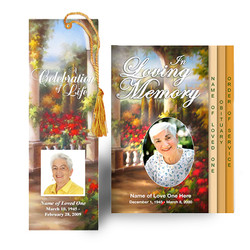 Tuscany Design - Memorial Program