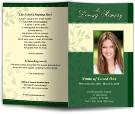 Funeral Program Design Contemporary Funeral Programs