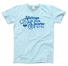 b2d082f90 Always In Our Hearts Glitter In Loving Memory Shirts blue