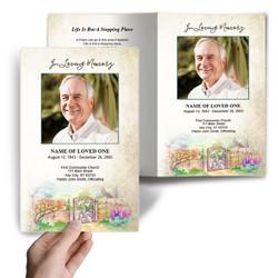 DIY Funeral Programs  Select. Download. Edit. Print.