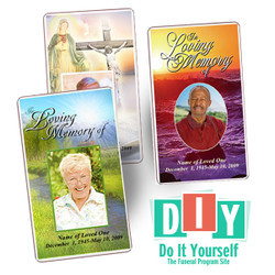How To Make Your Own Funeral Prayer Cards