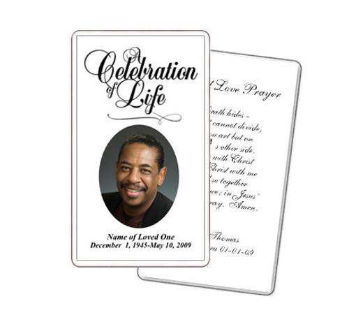 Classic Prayer Card Template