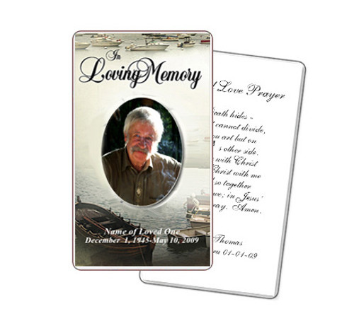 Fishing Prayer Card Template