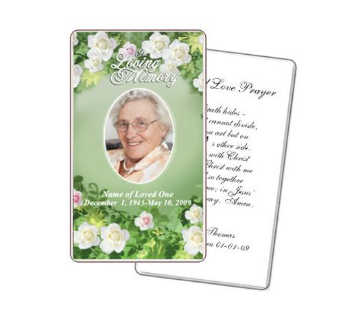 Garden Prayer Card Template