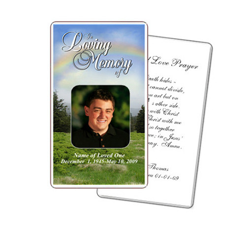 Promise Prayer Card Template
