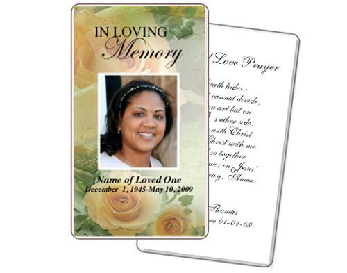 Rejoice Prayer Card Template