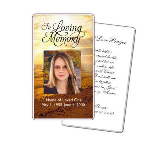 Shine Prayer Card Template