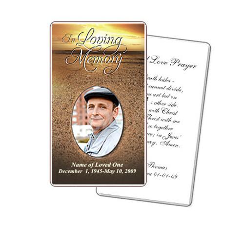 Timeless Prayer Card Template