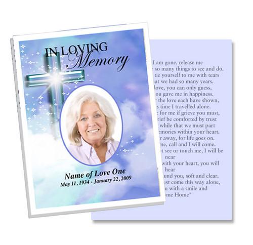 Adoration Flat Card Template