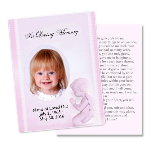Angela Flat Card Template