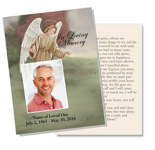 Delilah DIY Funeral Card Template