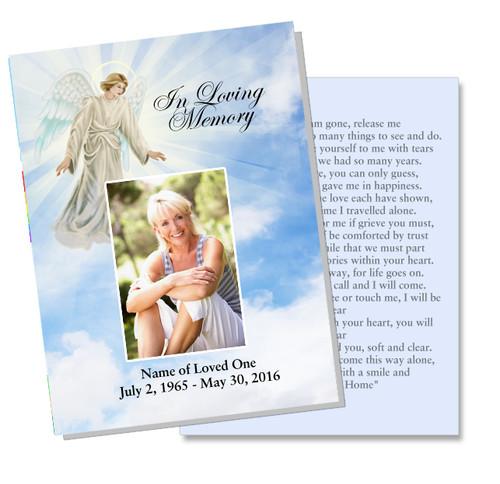 Devout DIY Funeral Card Template