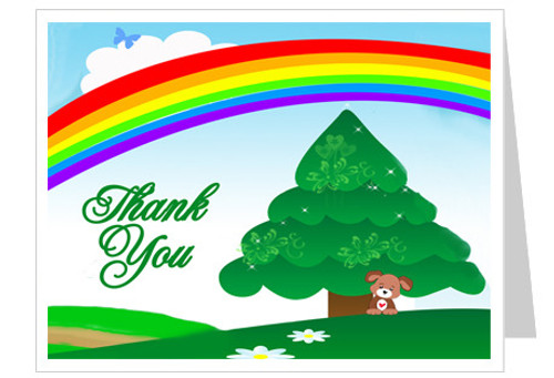 Delight Thank You Card Template