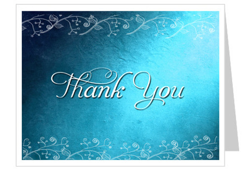Devotion Thank You Card Template