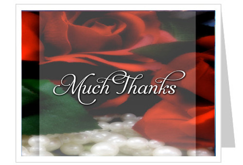Elegance Thank You Card Template