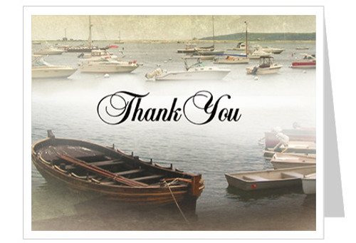 Fishing Thank You Card Template