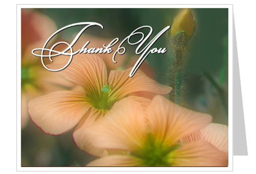 Floral Thank You Card Template