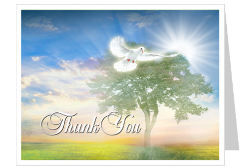 Gardener Thank You Card Template