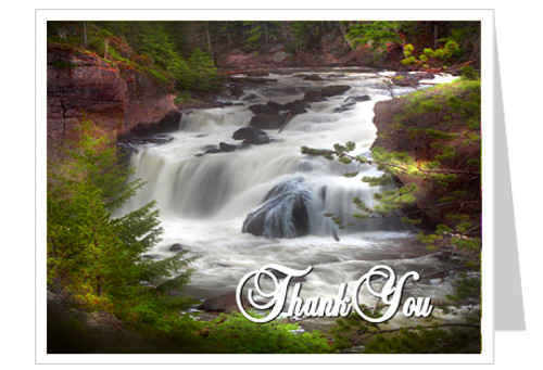 Graceful Thank You Card Template