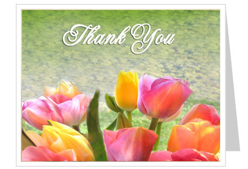 Harvest Thank You Card Template