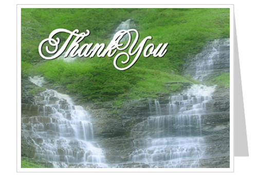 Majestic Thank You Card Template