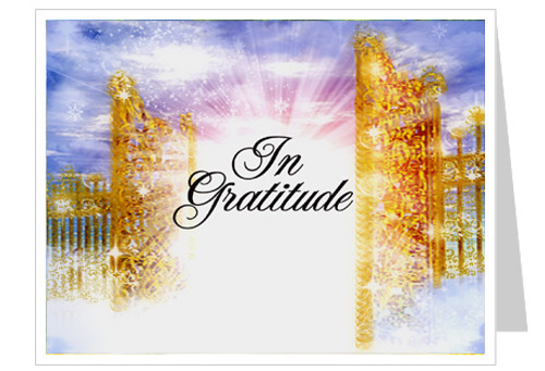 Pathway Thank You Card Template