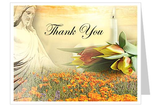 Savior Thank You Card Template