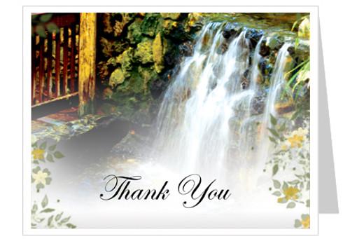 Serene Thank You Card Template