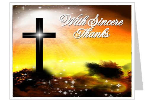 Splendor Thank You Card Template