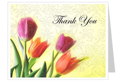 Sunny Funeral Thank You Card Template