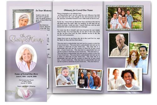 Beloved Tri Fold Brochure Template