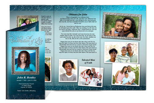 Devotion Legal Funeral Tri Fold Brochure Template
