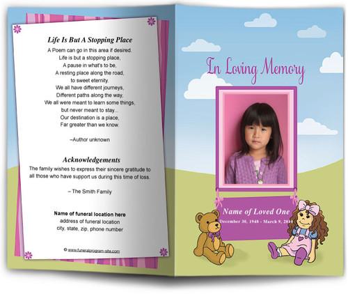 doll funeral program